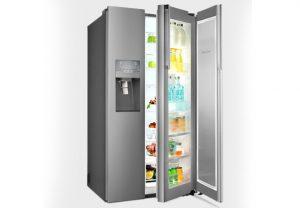 یخچال و فریزر ساید بای ساید اسنوا مدل S8-3350